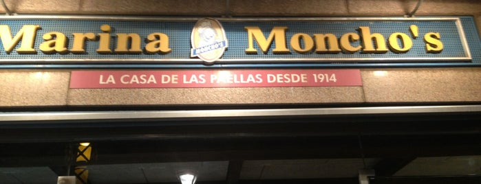 Marina Bay by Moncho's is one of Patatas Bravas de Barcelona.