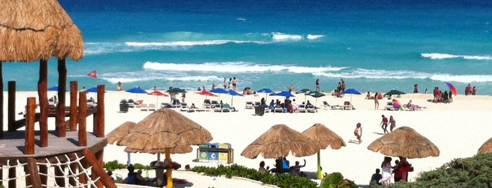 Playa Delfines (El Mirador) is one of Cancún, MEX.