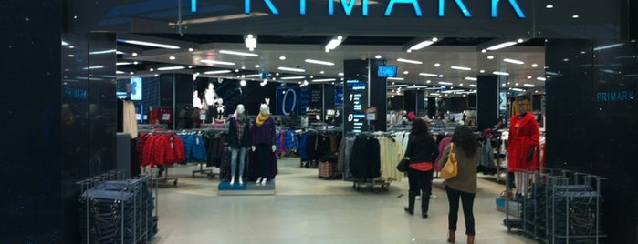 Primark is one of Lieux qui ont plu à Daniel.