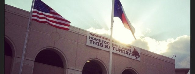 Bobcat Stadium is one of College Football Stadiums in Texas.