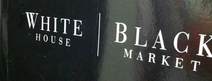 White House Black Market is one of Gespeicherte Orte von Lizzie.