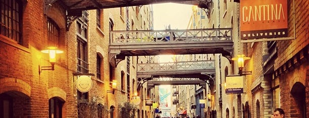 Shad Thames is one of London.