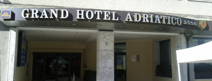 Best Western Grand Hotel Adriatico is one of Posti che sono piaciuti a Jan.