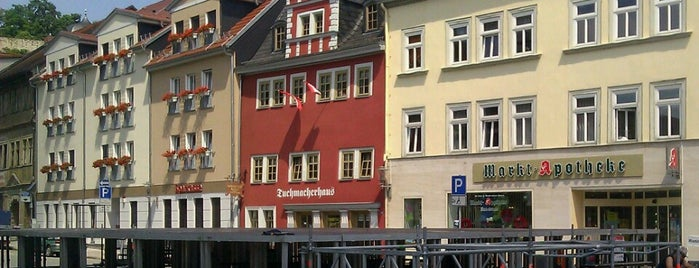 Tuchmacherhaus is one of Lieux qui ont plu à Thilo.