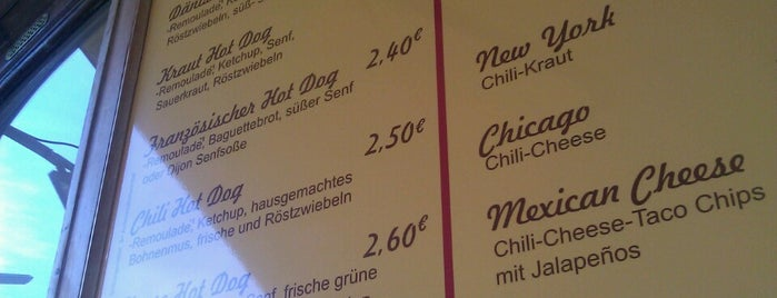 Der Hot Dog Laden is one of My Favourites.