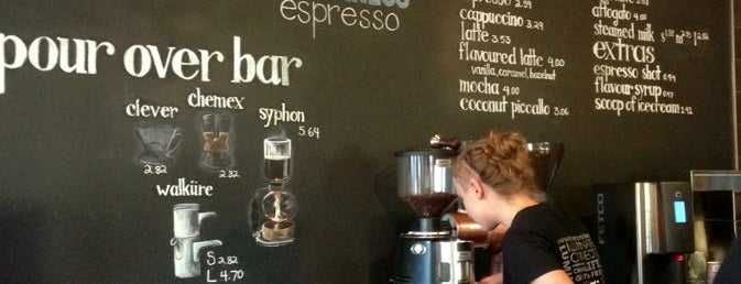 Illume Espresso Bar is one of Anne-Sophieさんの保存済みスポット.