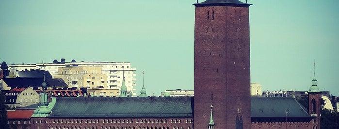 Hilton Stockholm Slussen is one of Sweden #4sq365se.