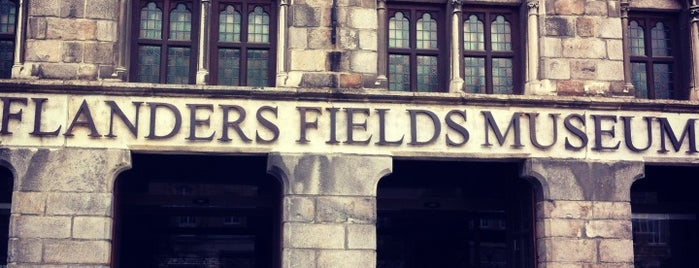 In Flanders Fields Museum is one of CBS Sunday Morning 5.