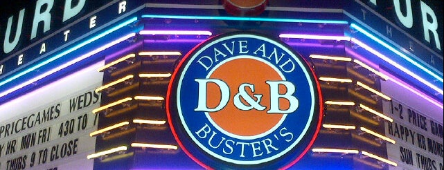 Dave & Buster's is one of Try.