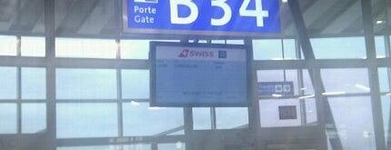 Gate B34 is one of Geneva (GVA) airport venues.