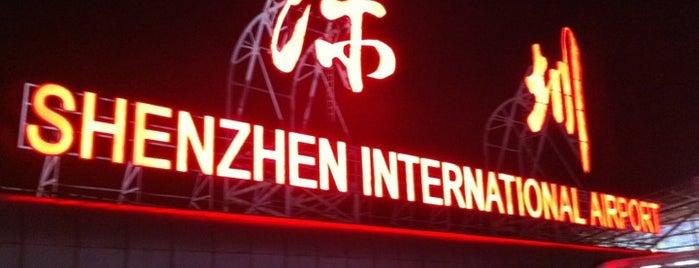 深圳宝安国際空港 (SZX) is one of Shenzhen.