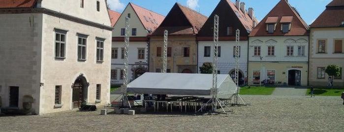 Radničné námestie is one of UNESCO World Heritage Sites in Eastern Europe.