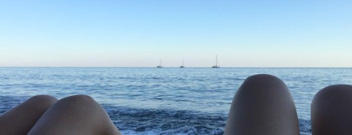 Spiaggia di Moneglia is one of √ Best Free-Beaches in Liguria.