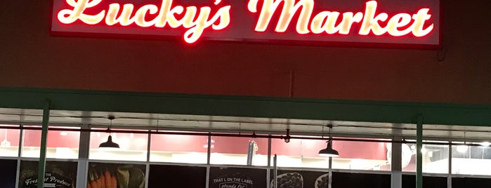Lucky's Market is one of Locais curtidos por kimberly.