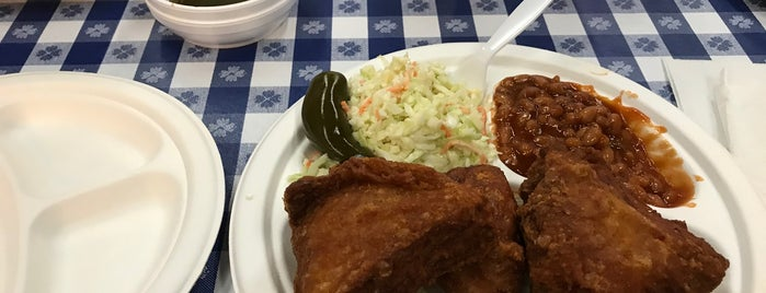 Gus's World Famous Fried Chicken is one of KC fall.