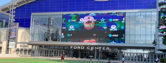 The Star in Frisco is one of Dallas, TX.
