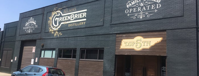 Nelson's Greenbrier Distillery is one of Nashville.