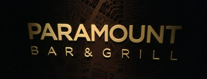 Paramount Bar and Grill is one of Leigh: сохраненные места.