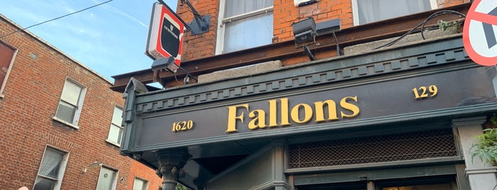 Fallon's Pub is one of Trad Dublin Pubs.