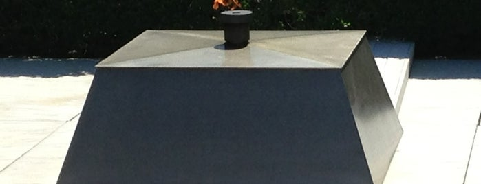 John F. Kennedy Eternal Flame is one of DC - Must Visit.