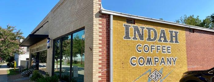 Indah Coffee Company is one of Lieux qui ont plu à M.
