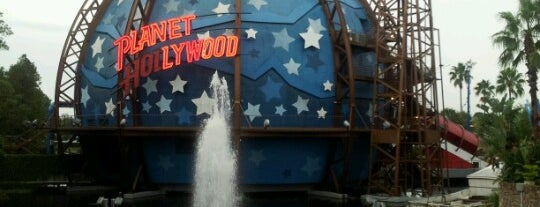 Planet Hollywood is one of Orlando's must visit!.