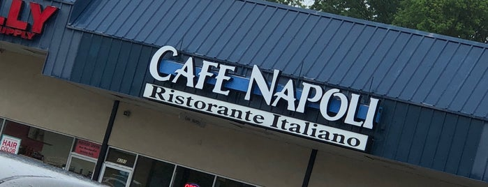 Cafe Napoli is one of ashley may 님이 좋아한 장소.