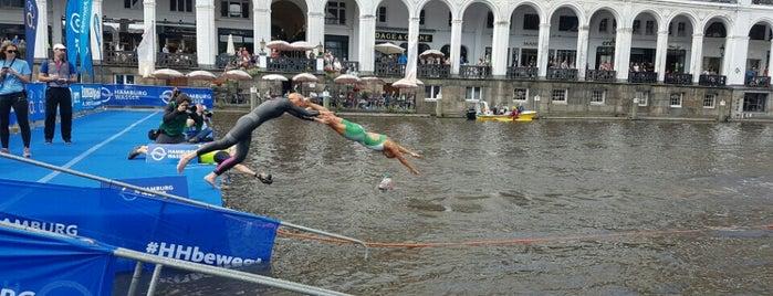 ITU World Triathlon Hamburg is one of Lugares favoritos de Phil.