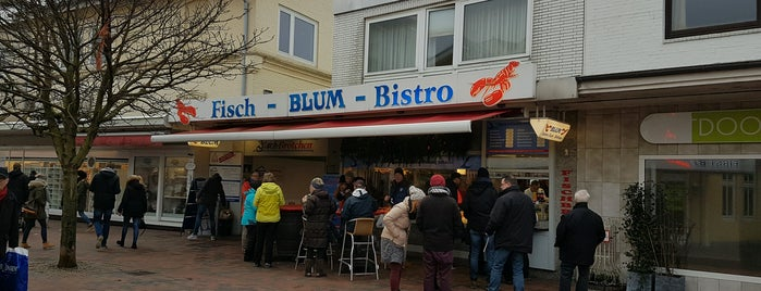 Blum Seafood Bistro is one of Sylt.