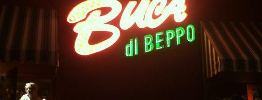 Buca di Beppo is one of Italian Restaurants.