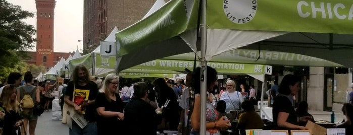 Printers Row Lit Fest is one of Jeremy's Chicago List.