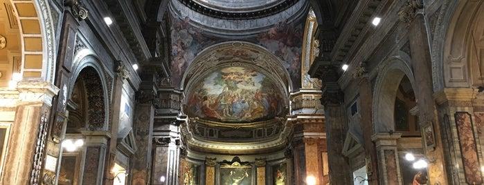 Chiesa dei Santi Claudio e Andrea dei Borgognoni is one of Rome / Roma.