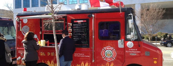El Fuego is one of Washington DC Food Trucks.