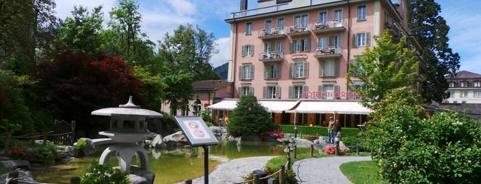 Hotel Interlaken is one of To be visited soon.