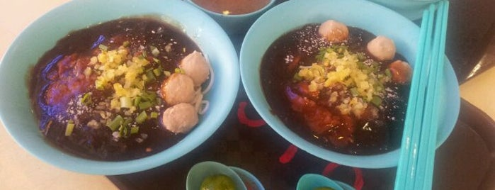 Hai Nan Xing Zhou Beef Noodles 海南星洲牛肉粉 is one of Good Food Places: Hawker Food (Part I)!.