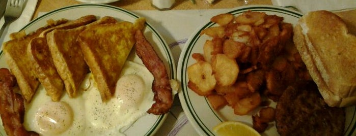 Boston Diner is one of places I recommend.