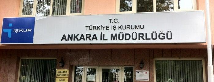 İŞKUR | Türkiye İş Kurumu is one of BuRcak'ın Beğendiği Mekanlar.