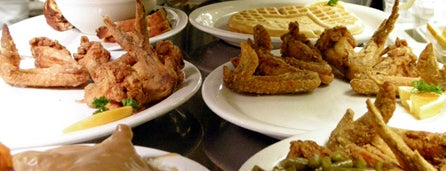 Gladys Knight's Signature Chicken & Waffles is one of Places to Eat.