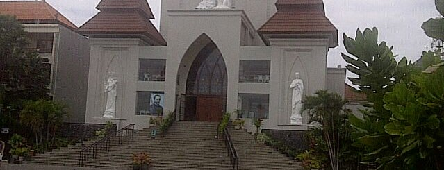 St. Fransiskus Xaverius (Catholic Church) is one of Gereja Katolik & Biara di Indonesia.