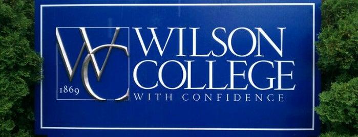 Wilson College is one of Orte, die Brett gefallen.
