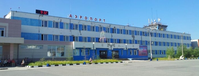 Novy Urengoy Airport (NUX) is one of JRAさんの保存済みスポット.