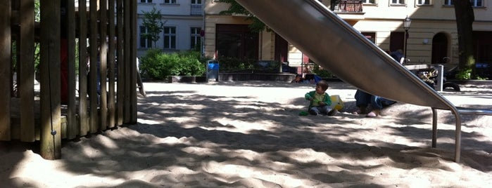 Spielplatz hinter der Gethsemanekirche is one of Playgrounds in Berlin.