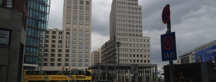 Potsdamer Platz is one of StorefrontSticker #4sqCities: Berlin.