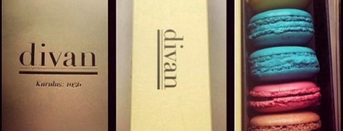 Divan Pastanesi is one of Restaurantlar.