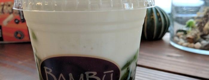 Bambu Desserts & Drinks is one of Lugares favoritos de Tony.