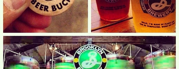 Brooklyn Brewery is one of Best Places in NYC.