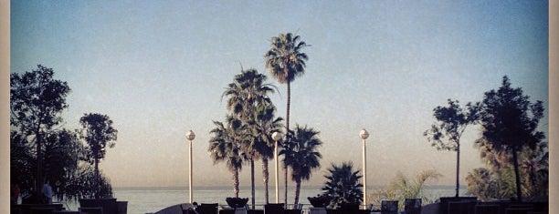 Loews Santa Monica Beach Hotel is one of Kalifornien.