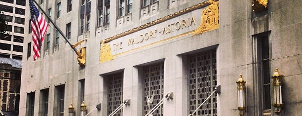 Waldorf Astoria New York is one of The New Yorker's About Town.