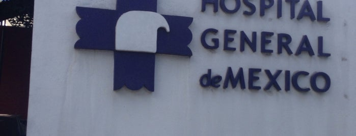Oncología - Hospital General de México is one of Locais curtidos por Yeme.