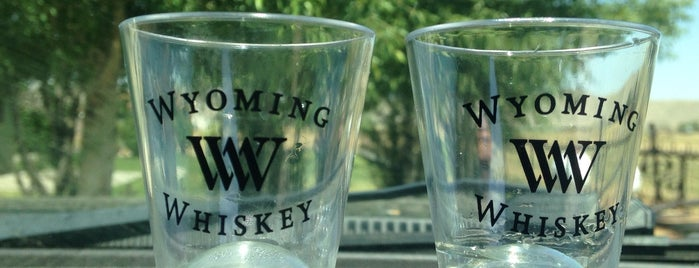 Wyoming Whiskey is one of Brewery & Distillery To-Do List.